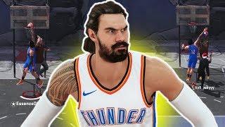 STEVEN ADAMS CRAZY CONTACT DUNKS, REBOUNDS AND BLOCKS! NBA 2K18