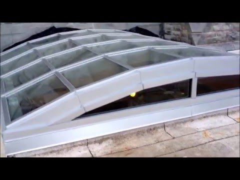 Glass Vaulted Skylight - Collins Bay Institution - Elite Construction