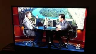 Vince Gilligan on Colbert
