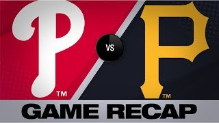 Marte, Musgrove lead Pirates past Phillies | Phillies-Pirates Game Highlights 7/20/19