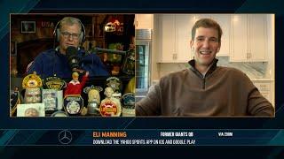 Eli Manning on the Dan Patrick Show Full Interview 9/21/20