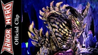Armor Heroes Fight with the King Cobra Monster - Armor Hero Official English Clip  [HD 公式] - 48