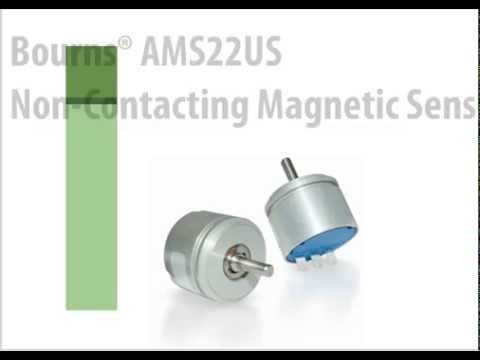 Bourns Model AMS22U Non-Contacting Analog Rotary Position Sensor Training