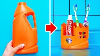 22 CLEVER WAYS TO RECYCLE OLD PLASTIC BOTTLES