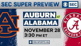Auburn vs. Alabama SUPER PREVIEW | Iron Bowl | CBS Sports HQ