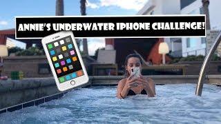 Annie's Underwater iPhone Challenge 📱 (WK 372.6) | Bratayley