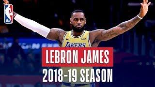LeBron James' Best Plays From the 2018-19 NBA Regular Season