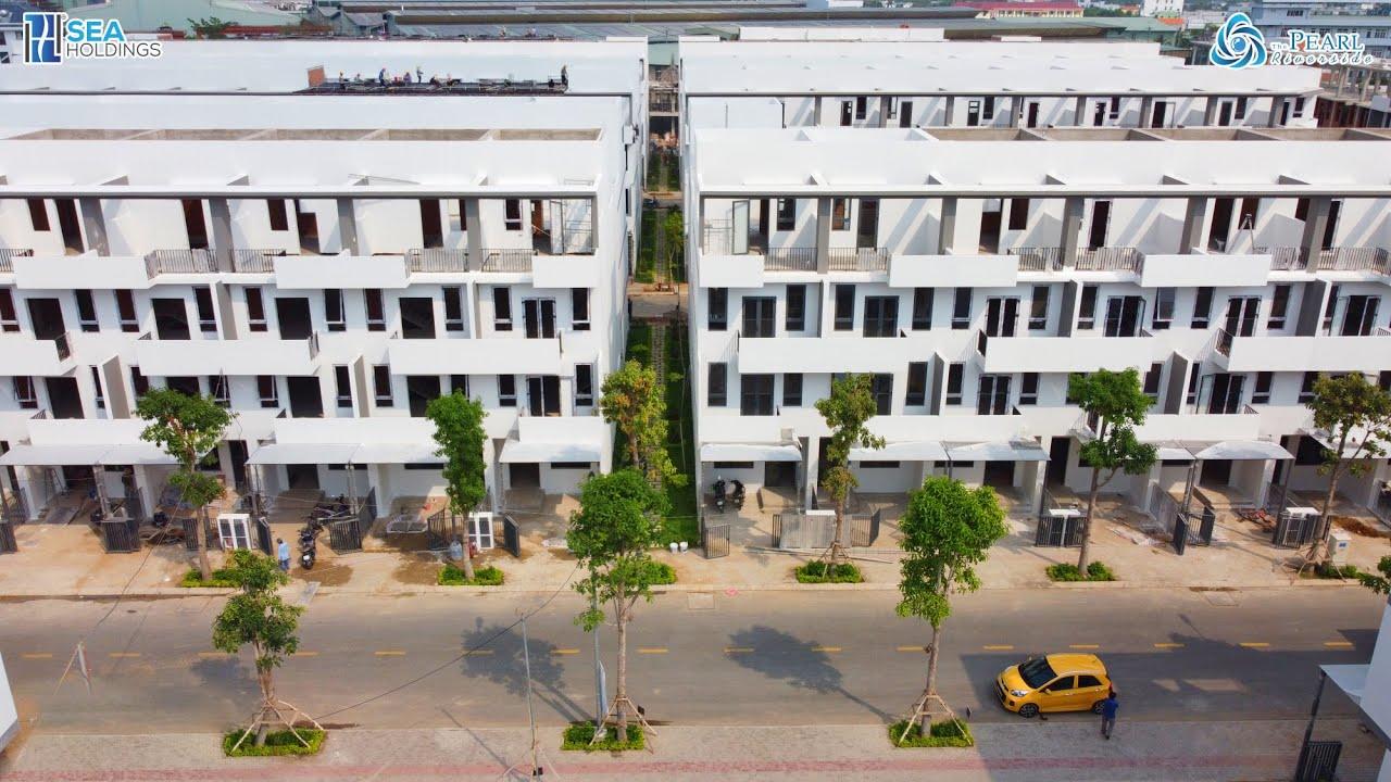 The Pearl Riverside - 3.8 tỷ sở hữu nhà phố nghỉ dưỡng view sông, khu compound, ngay TT Bến Lức video