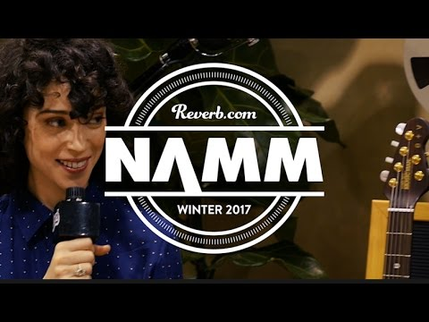Annie Clark of St. Vincent Talks Gear, Process, and Anti-Guitar Hero Influences at NAMM 2017
