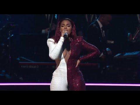 Ashanti Performs Medley At The 2019 Trumpet Awards!