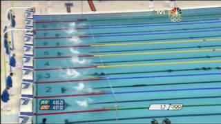 1st Gold 2008 Beijing Olympics Swimming Men's 400m Medley