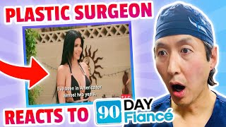 Doctor Reacts to 90 DAY FIANCE! - Larissa undergoes plastic surgery!