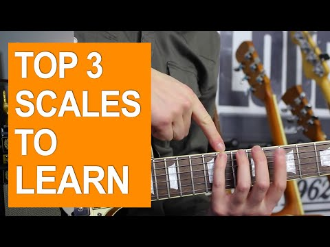 3 Essential Guitar Scales for Beginners