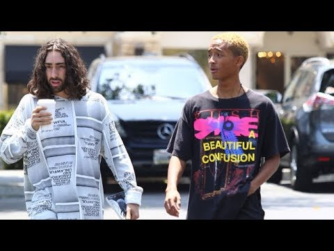 Jaden Smith Enjoying The Success Of His Album Syre