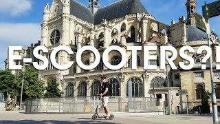 Welcome to a New Season + Electric Scooter Apps in Paris