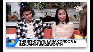"Lana Condor & Benjamin Wadsworth Shared A ""Snotty"" Onscreen Kiss"