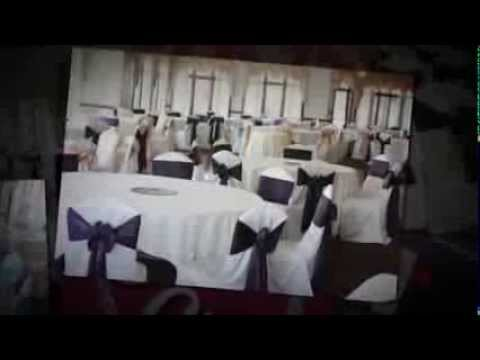 Glendale Lakes Golf Club - Glendale Heights IL  Event decor by Satin Chair Covers