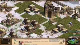 Aoe2 HD: Turks Fast Imperial Age (Gunpowder Blitzkrieg)