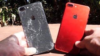 iPhone 8 Plus vs 7 Plus Drop Test!
