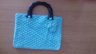 Hướng dẫn cách móc túi xách len