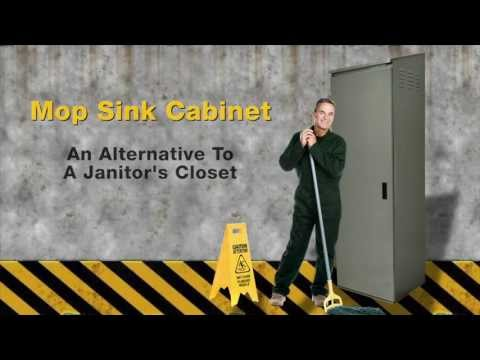Mop Sink Cabinet by Advance Tabco