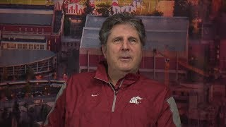 2018 National Signing Day: Mike Leach describes how Washington State is healing together...