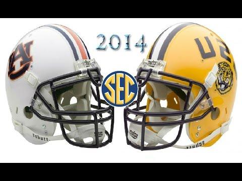 #5 Auburn vs #15 LSU - 2014
