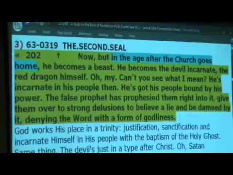 12-1003 - A Study on the Book of Revelations Pt.34 (Fourth Seal Pt.1) - Samuel Dale
