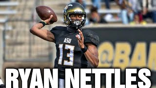 Alabama State QB Ryan Nettles Highlights vs Mississippi Valley 2021 || SWAC COLLEGE FOOTBALL 2021
