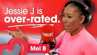 Mel B brands Jessie J as OVER-RATED! 💥 | Interview | Heart