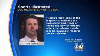 Romo Named Media Person Of The Year