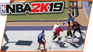 The MOST INSANE ALLEY OOP EVER!!- NBA2k19 Park Gameplay