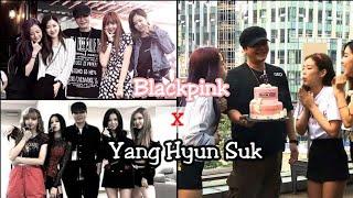 Blackpink and Yang Hyun Suk Interactions  (Watch Till the End)