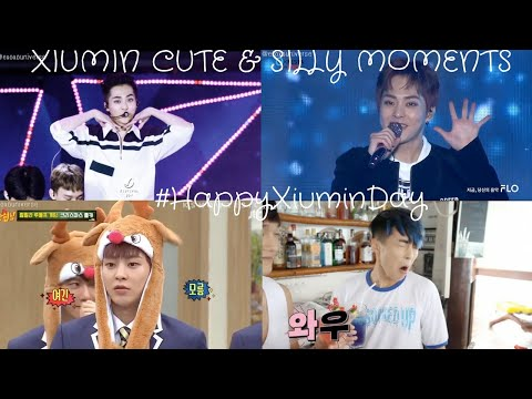 Xiumin Cute & Silly Moments |  #HappyXiuminDay🐹🎉