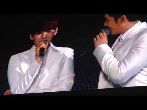 131107 [SS5 Mexico] Super Junior hablando y cantando en español