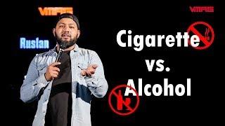 Cigarette vs. Alcohol || Sajan Shrestha || Mic Drop