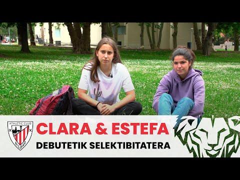 Clara & Estefa, del debut en Primera a la Selectividad | Entrevista Athletic Club femenino
