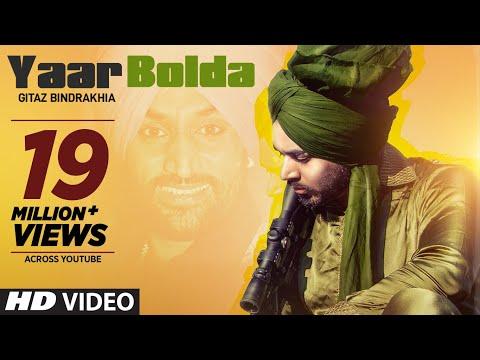 Gitaz Bindrakhia: Yaar Bolda (Full Song) Snappy - Rav Hanjra - Rupan Bal