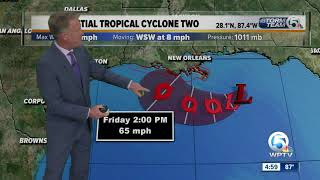 Potential Tropical Cyclone Two