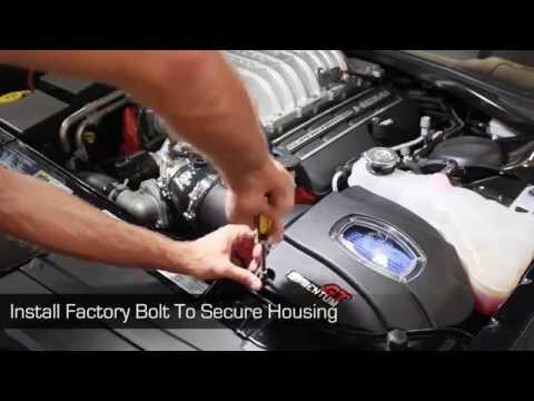 aFe Power 15-16 Dodge Challenger SRT Hellcat V8-6.2L (sc) HEMI Momentum GT Intake System 52-72204-C