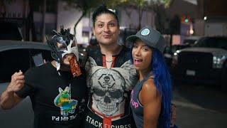 Mamba AAA, Sasha Banks WWE y KALISTO WWE... Probando Golocinas Mexicanas