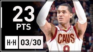 Jordan Clarkson Full Highlights Cavs vs Pelicans (2018.03.30) - 23 Points off the Bench!