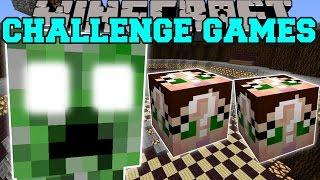 Minecraft: CREEPER TITAN CHALLENGE GAMES - Lucky Block Mod - Modded Mini-Game