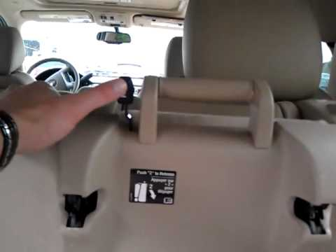 Chevy Tahoe   Seats, 3rd Row Return Tumble