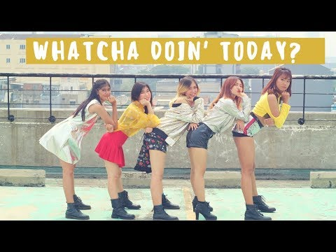 포미닛 (4MINUTE) - '오늘 뭐해 (Whatcha Doin' Today) Cover by Queen Panda (Invasion Girls)