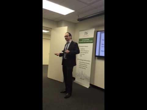 Danny Mizrahi, Contango. Adrian's Network presentation