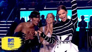 Hailee Steinfeld Presents the Best Acts From Germany, Brazil & Africa   MTV EMAs 2018