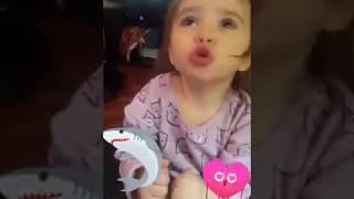 My cute little niece doing the Baby Shark | Tik Toc