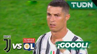 ¡GOLAZO! Cristiano marca doblete | Juventus 0-0 Lyon | Champions League 2020 - Octavos final | TUDN