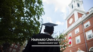Harvard University Commencement 2017 Afternoon Exercises